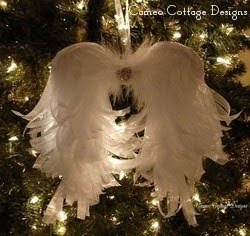 My Organdy Angel Wings
