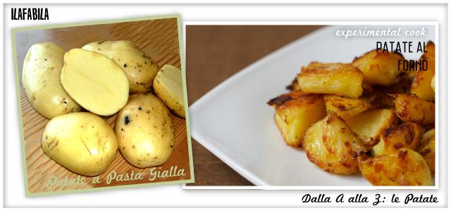 Patate a Pasta Gialla - Patate al Forno - Experimental Cook