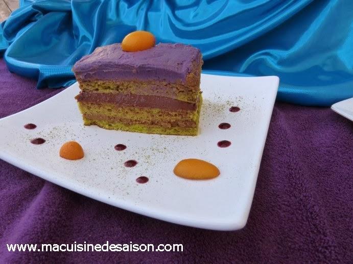 Ma recette du gâteau Opéra revisité pour Fou de Pâtisserie