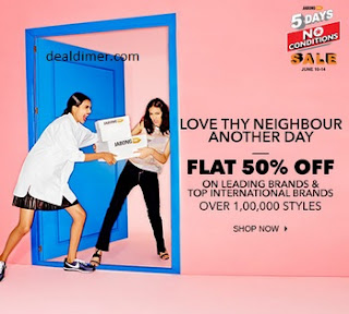 Clothing, Footwear, Accessories & Home Furnishing 50% off
