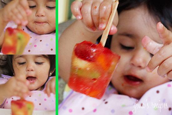Frozen Fruit Pops | Skinnytaste