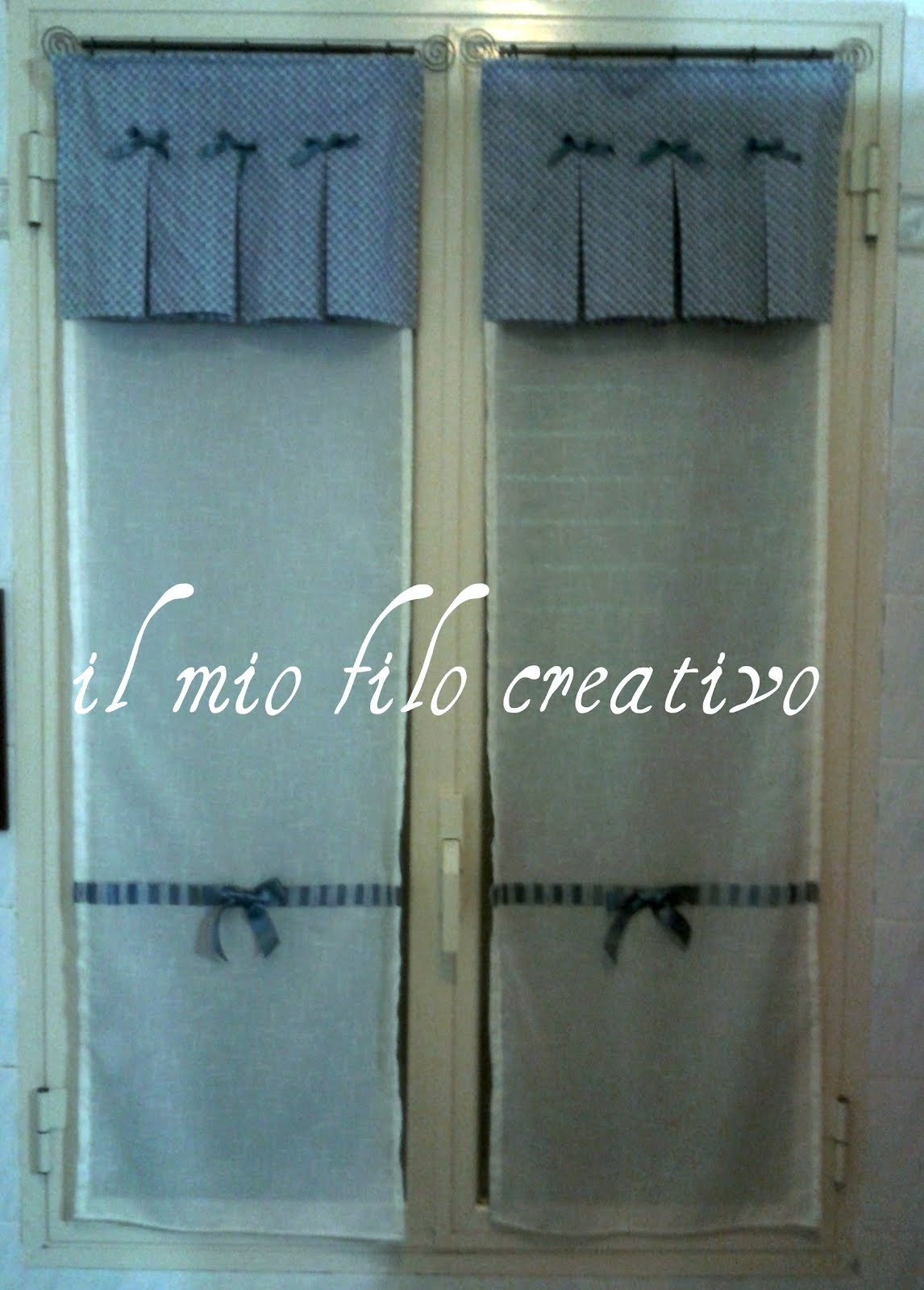 il mio filo creativo: ancora tende!!!