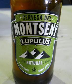 cerveza marca cervesa del Montseny