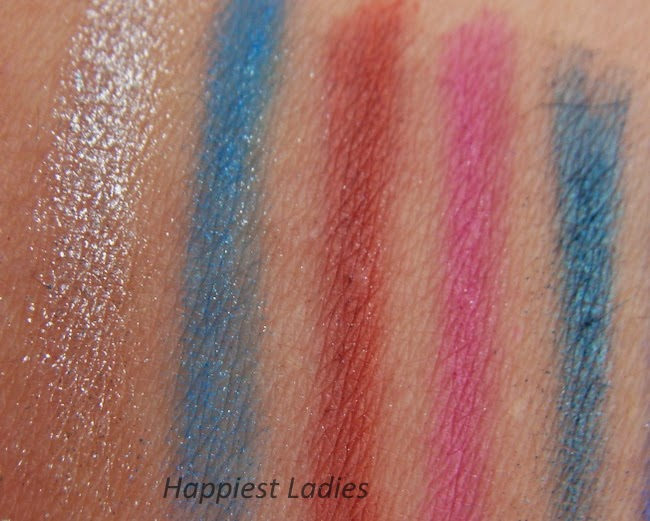 Urban Decay Electric Shadow swatch