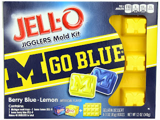 Michigan Wolverines NCAA JELL-O University Mold Kit