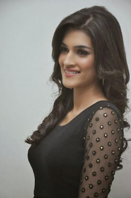 Kriti Sanon Photo Gallery in Black Dress