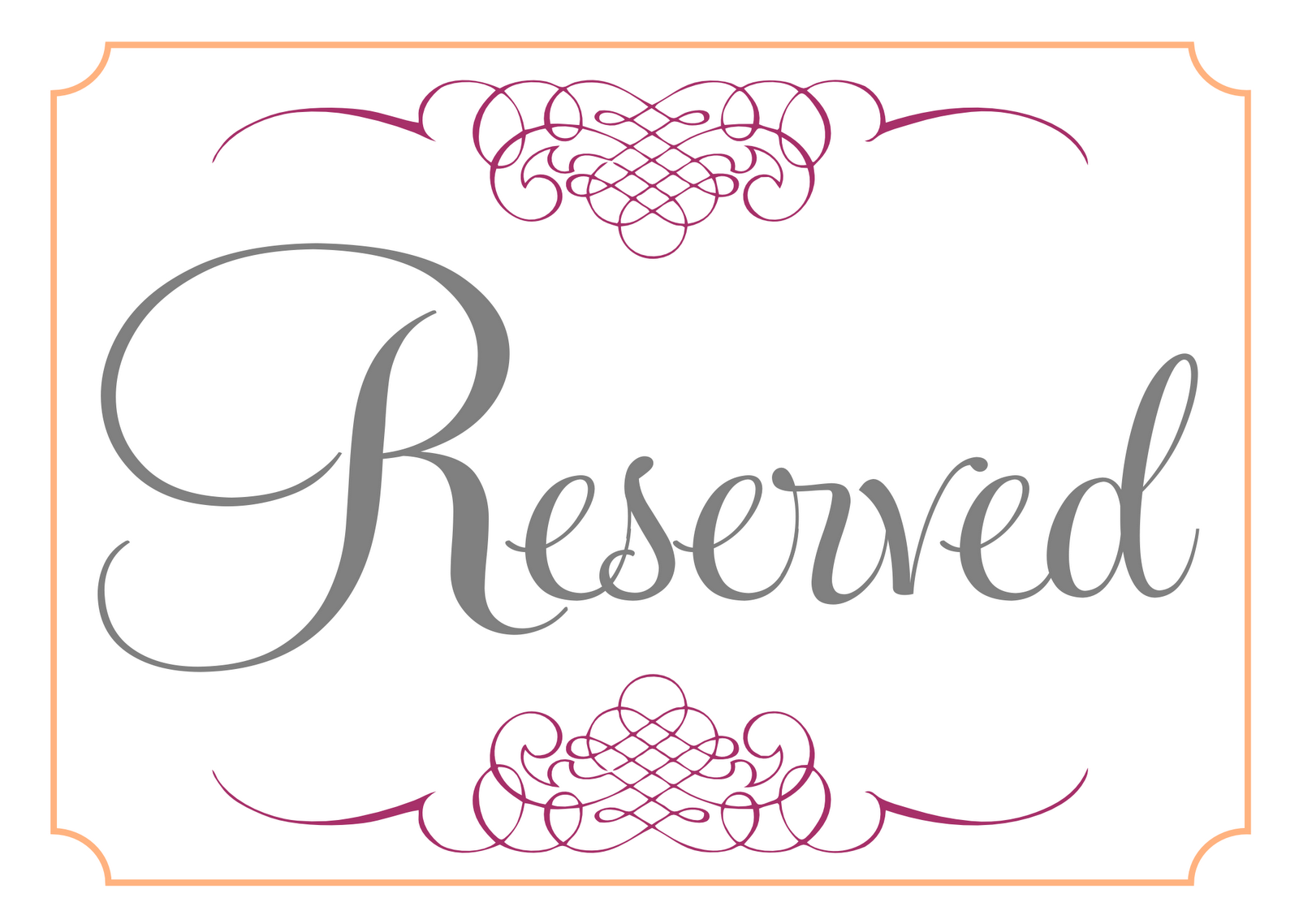 reserved sign template pictures to pin on pinterest pinsdaddy. Black Bedroom Furniture Sets. Home Design Ideas