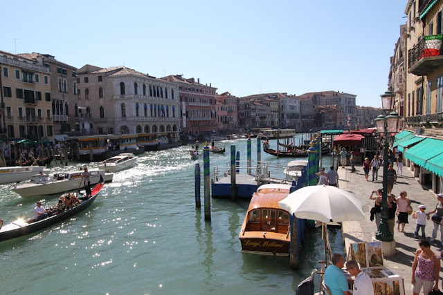 Photo 4 - Grand Canal from Rialto Bridge in Venice, Italy