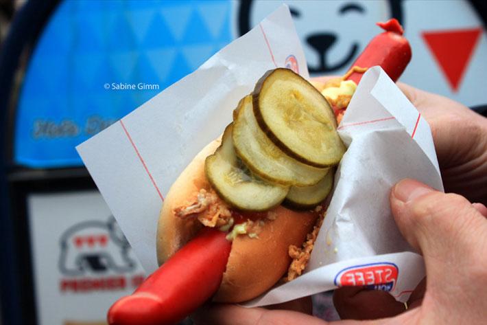 Urlaub in Dänemark - Hot Dog