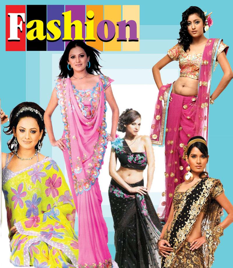 Latest Saree Design : Gossip Lanka News And Sri Lanka Hot News