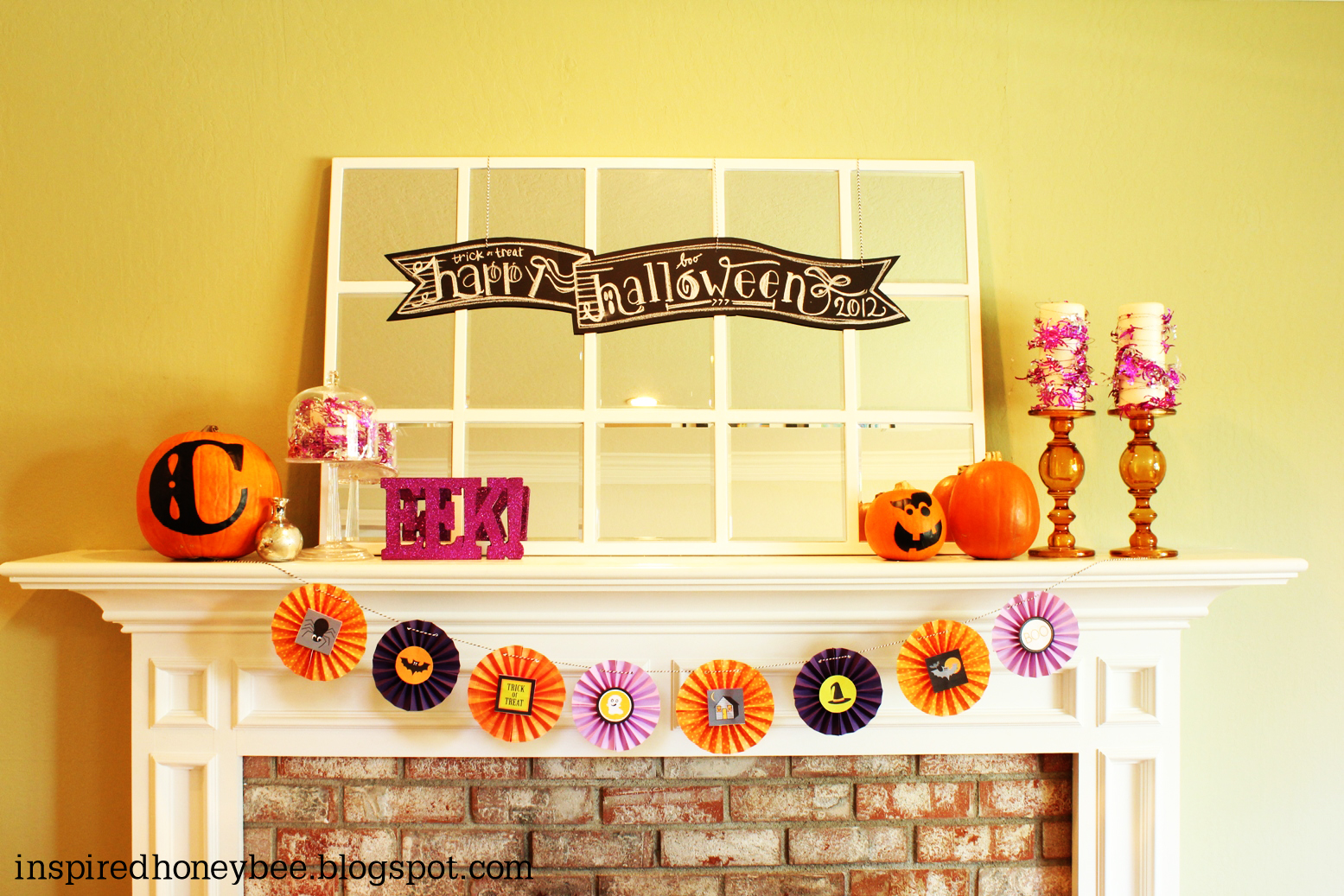 inspired honey bee home welcome october and halloween