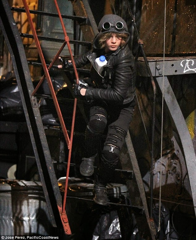 """Camren Bicondova como Selina Kyle / Catwoman en la serie """"Gotham"""""""