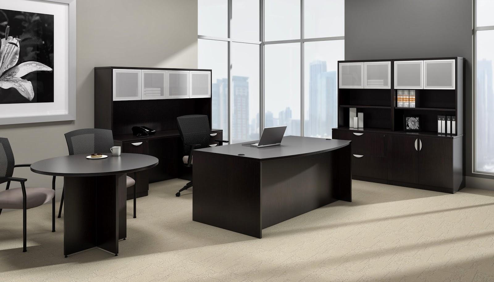 Offices To Go Espresso Desking