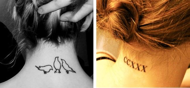 Dicas de fotos de Tatuagens na Nuca