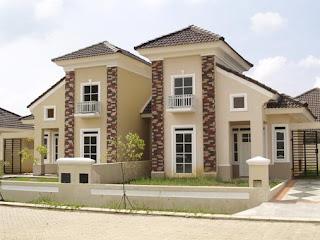 rumah real estate di citra indah