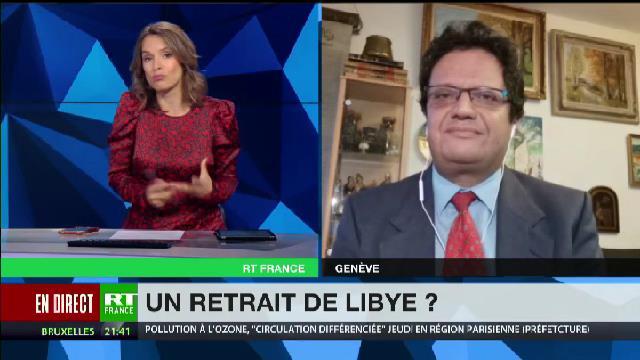 Riadh Sidaoui : armée turque, armée égyptienne: La guerre étrangère en Libye