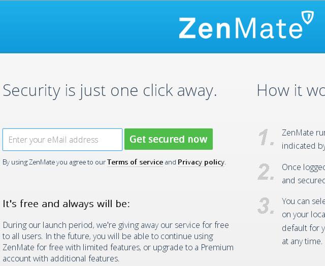 Registro ZenMate