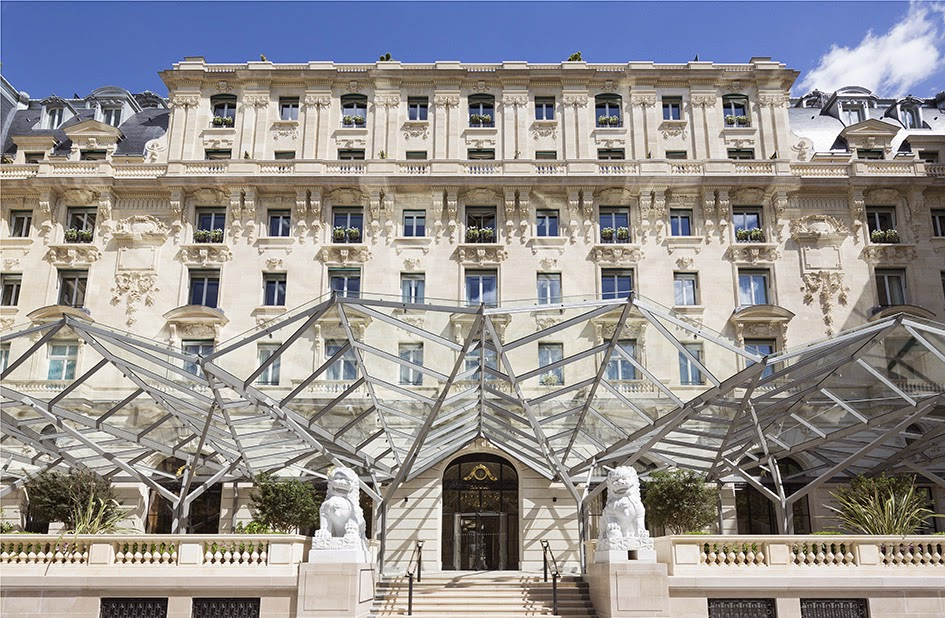 Les plus beaux hotels design du monde h tel the peninsula for Hotel design paris 7