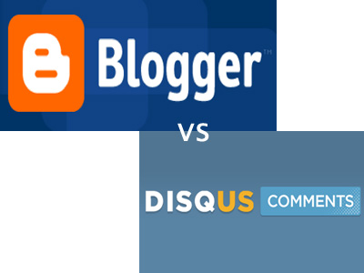 Disqus vs blogger