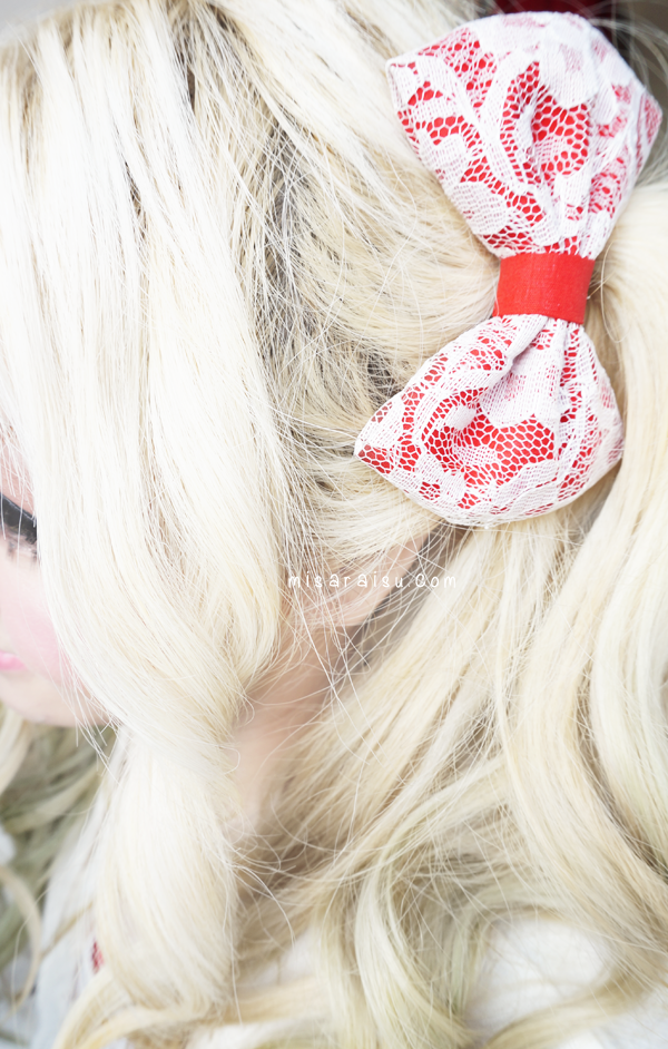 cute lace bow