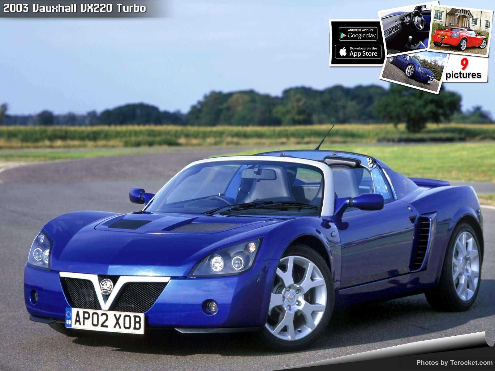 Hình ảnh xe ô tô Vauxhall VX220 Turbo 2003 & nội ngoại thất