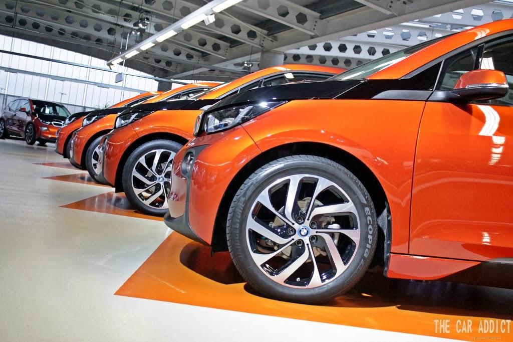 5 Solar Orange BMW i3 Line-Up