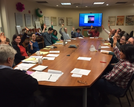 NewsGuild members at The Nation voted overwhelmingly to ratify the agreement earlier today