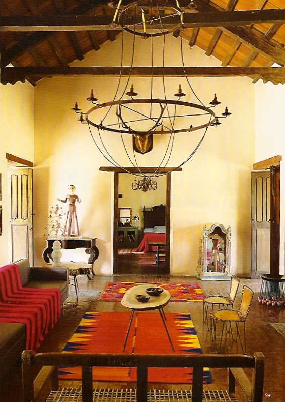 Latinspiration 5 kenmerken van de koloniale stijl in argentijns country house - Koloniale stijl kantoor ...