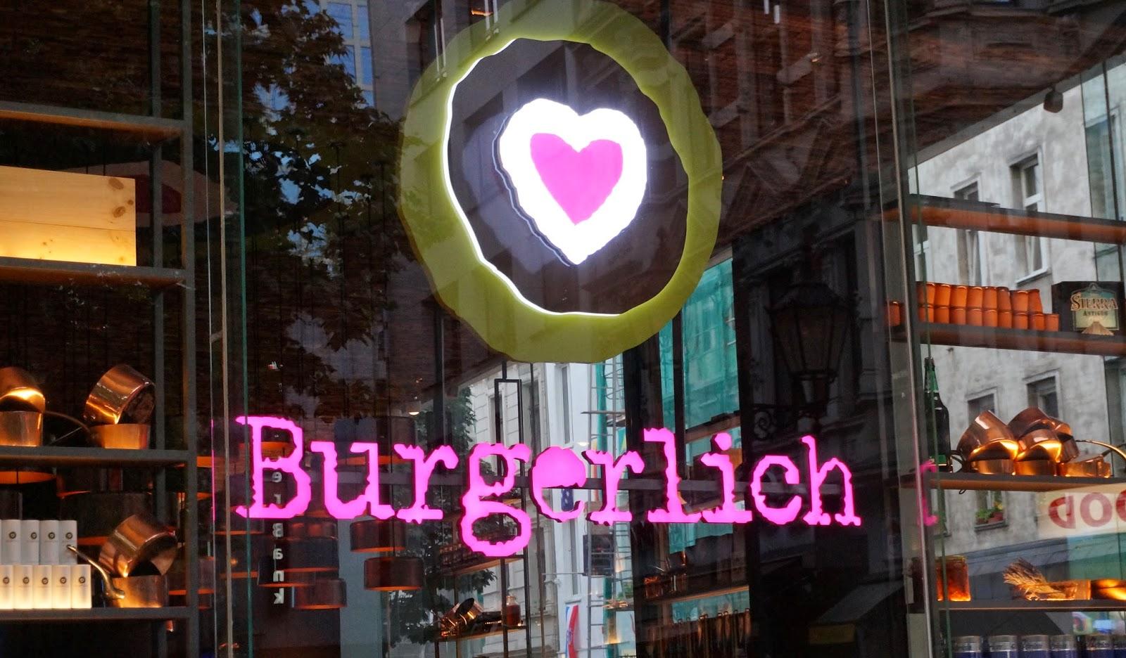 Köln, Burger essen in Köln, beste Burger, Erfahrungen Burgerlich, Burgerlich Fotos
