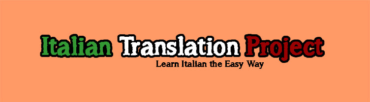 Italian Translation Project