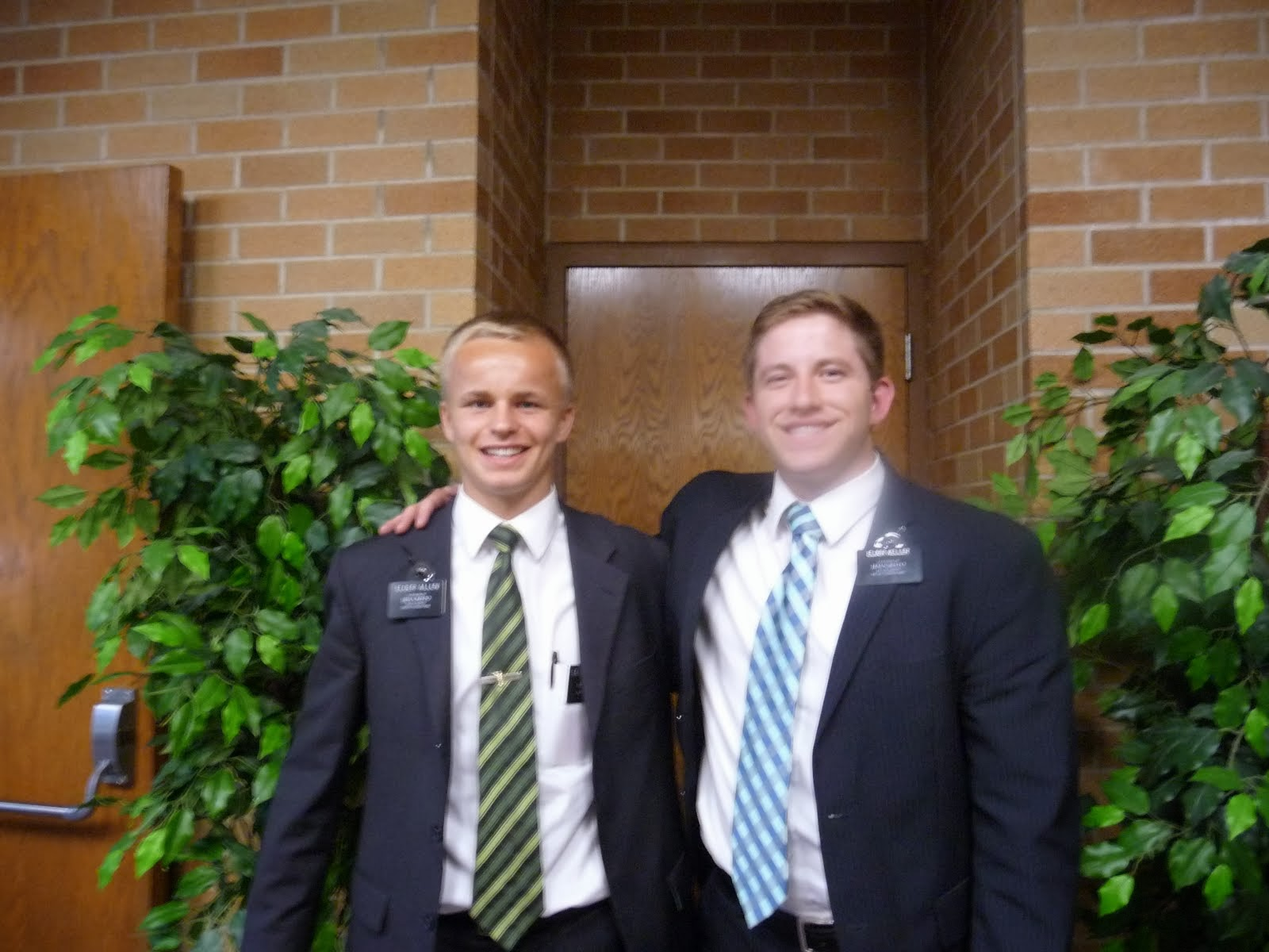 Elder Allen and Keller
