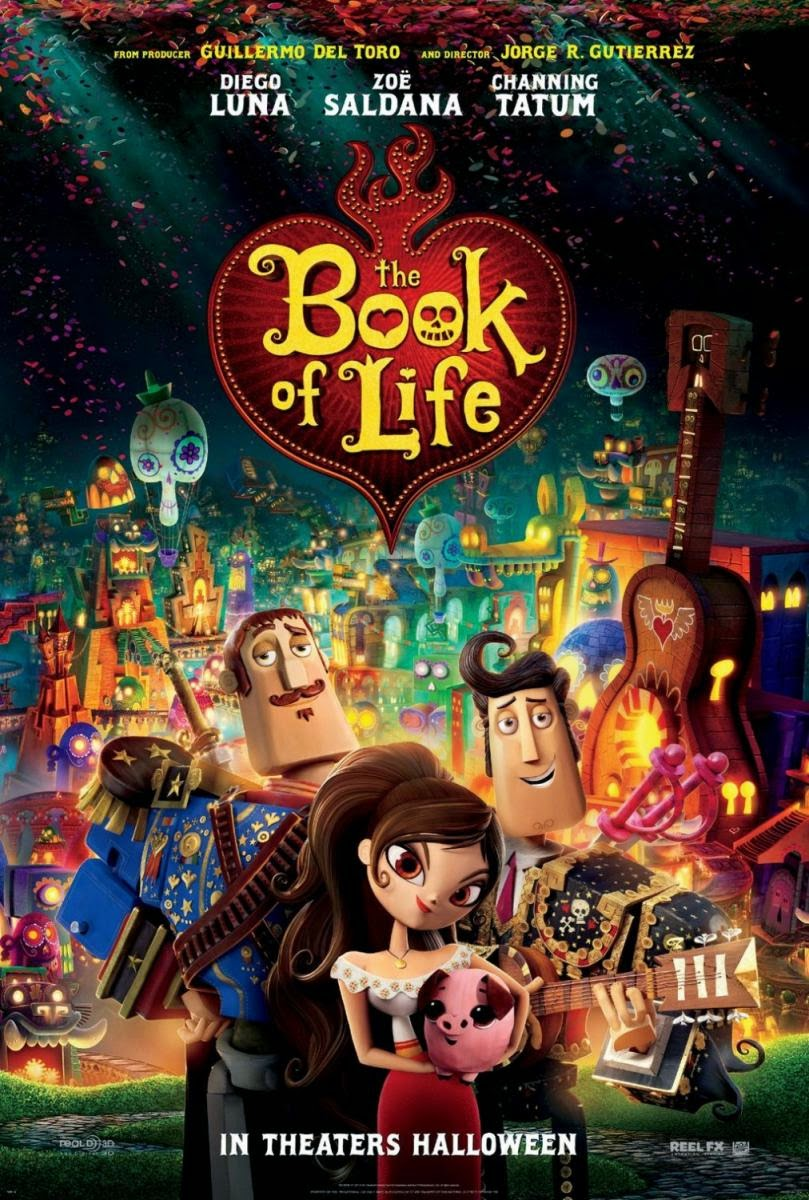 The Book of Life (Web-DL 720p Ingles Subtitulada) (2014)