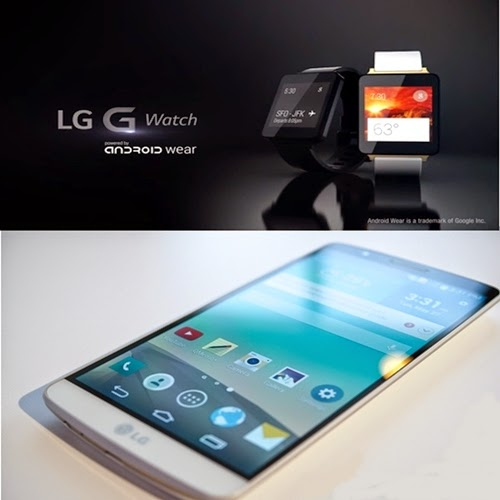 LG anuncia o smartwatch G Watch por R$ 699 e G3 por R$ 2.299