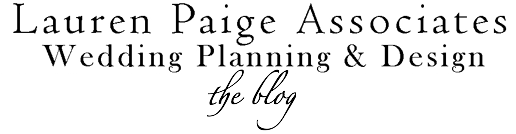 Hudson Valley Wedding Planners Lauren Paige Associates&#39; Blog