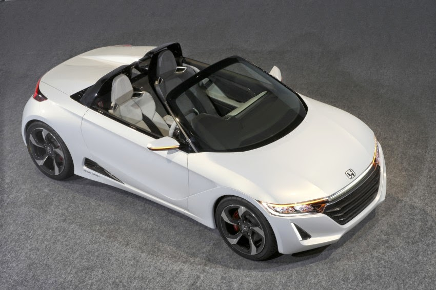 All Kinds Of Cars World: Honda cars S660 2 Seat Cabriolet will soon ...