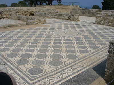 Roman city of Empúries in Catalonia