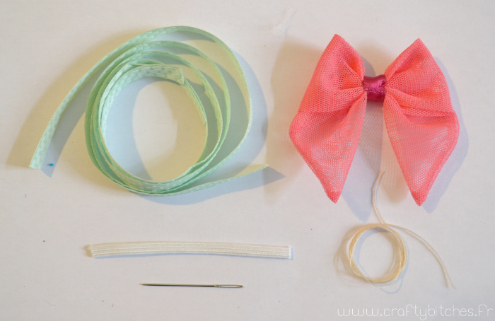 Valentine's DIY : Headband très girly (mini-tuto)