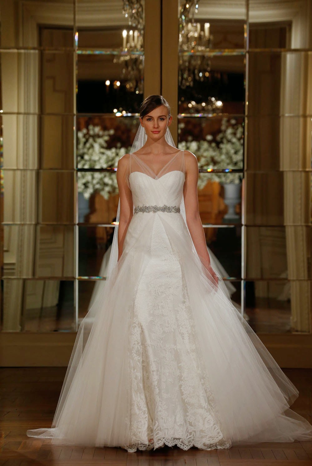 Waltz Length Wedding Dresses