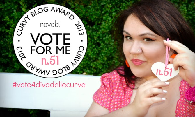 navabi curvy blog award 2013 divadellecurve
