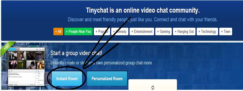 room blog teen chat