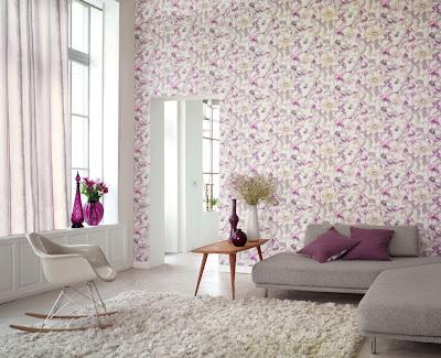 papel de pared colorado floral
