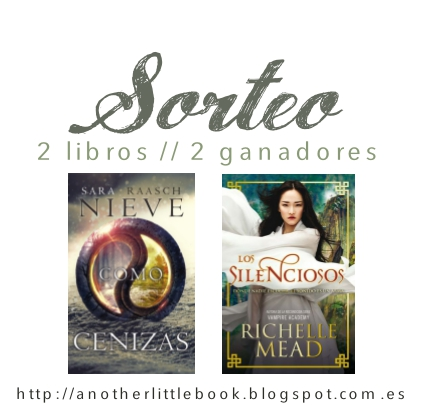 SORTEO 2.0 // 2 libros, 2 ganadores
