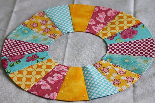The Parish Piece Dresden Plate Quilt History