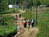 Tram del Camí Ral de Vic a Olot entre Les Palanques i els Plans