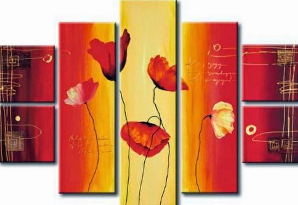 flores-rojas-pintadas-al-oleo-sobre-lienzo