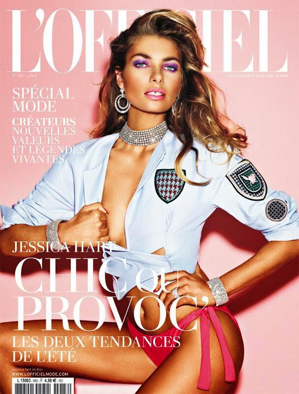 Jessica Hart HQ Pictures L'Officiel Paris Magazine Photoshoot March 2014