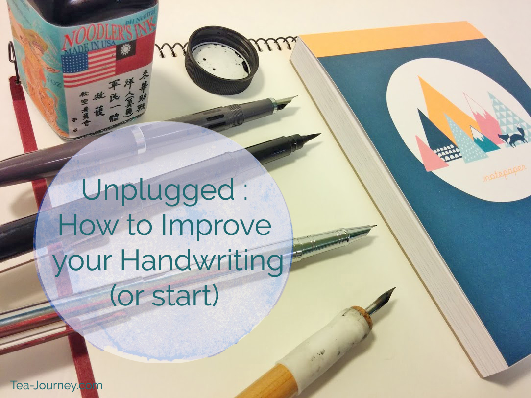 "Want to improve your handwriting?Here are a few tips to get you started and why you should take the time to write by hand. |Throughout October we are going to focus on being present by unplugging. ""Unplugged"" is going to help you find things to do when you just want to disconnect. It can be 10 minutes or a whole day. Take a chance and join us."