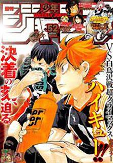 Ranking Weekly Shonen Jump 52 2015