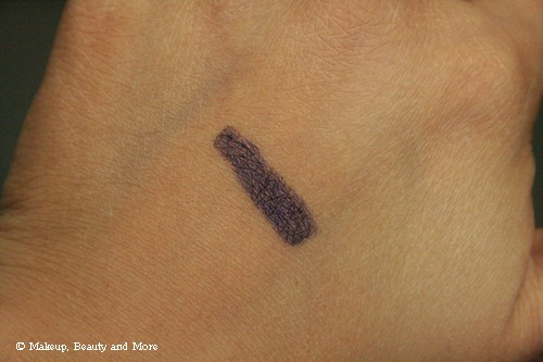 Bobbi Brown Long-Wear Gel Eyeliner in Violet Ink Swatch