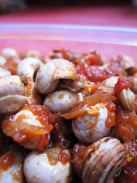 Babbaluci rossi (pomodoro a pic pac) del Festino di Santa Rosalia